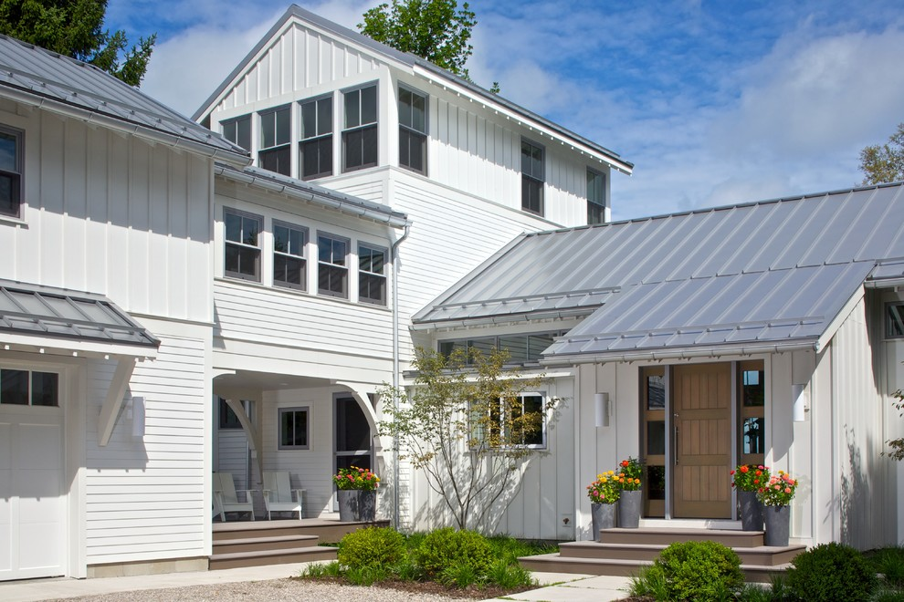 Roof Batten Board Lowcountry Residence Tropical Exterior
