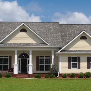 Patriot house completed by Benchmark Roofing in Columbus ohio