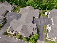 Multifamily roofing project in Columbus